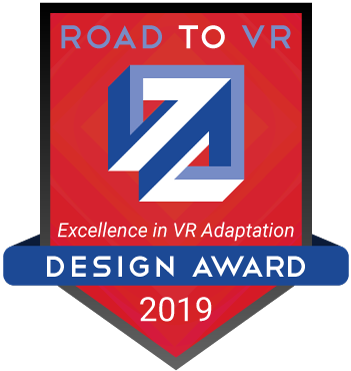 Road to VR award graphic