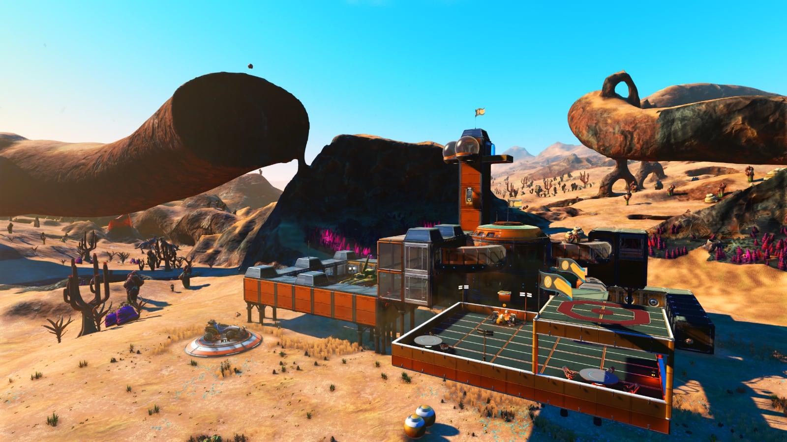 Desert Base from Atlas Rises