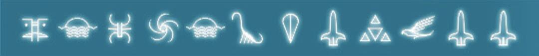 Sky Island Cottage portal glyphs